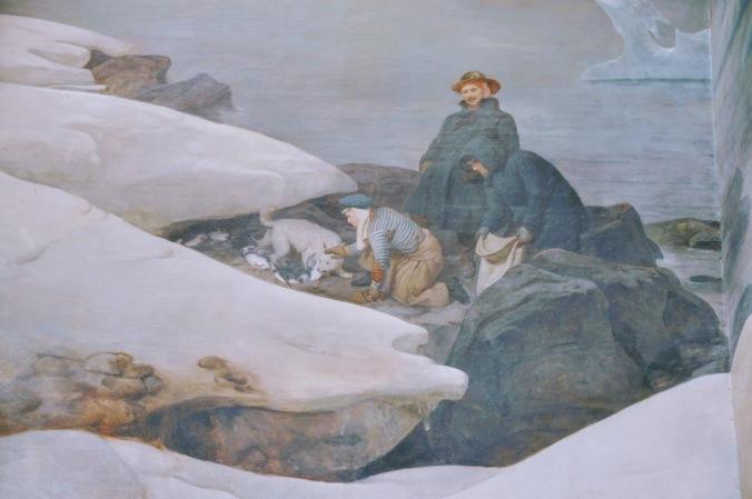 François Biard. Scènes au Spitzberg
