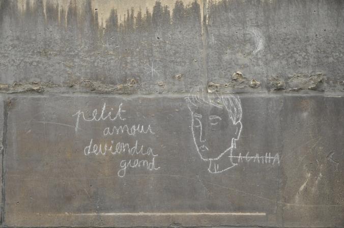 Passage Saint Roch graffiti