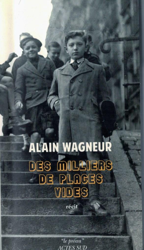 Alain Wagneur. Des milliers de places vides30102018