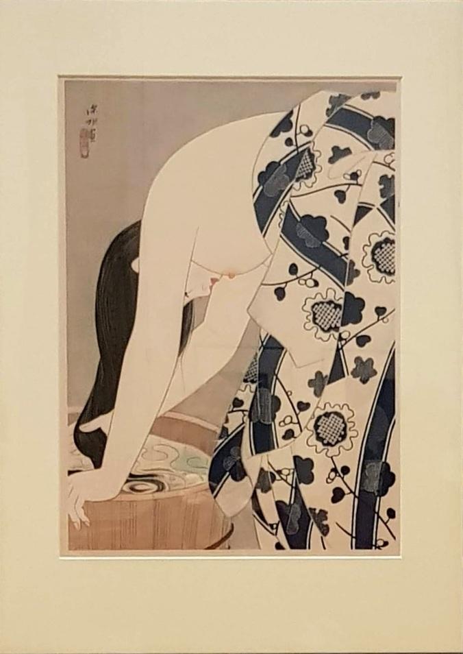 La chevelure. Ito Shinsui (1898-1972)