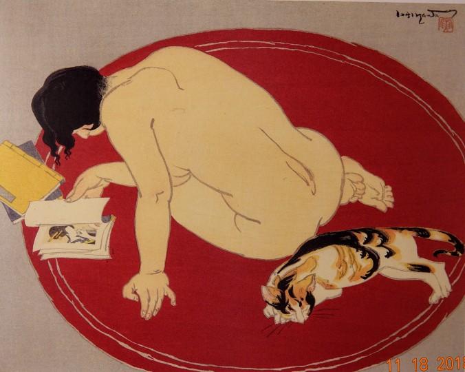 L'Ennui. Ishakawa Toraji (1875-1964) DSC05608